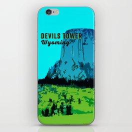 Devils Tower Wyoming iPhone Skin