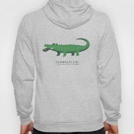 croc cannibalism Hoody
