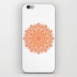 Mandala 12 / 5 eden spirit orange iPhone Skin