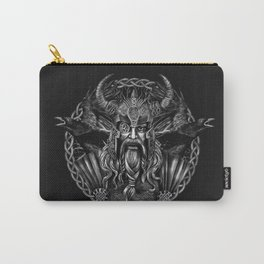 Odin and his ravens Huginn and Muninn Carry-All Pouch
