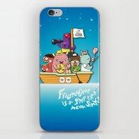 friendship iPhone & iPod Skins featuring Friendship by Gunawan Lo
