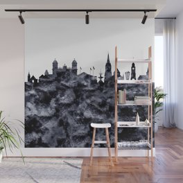 Christchurch skyline New Zealand Wall Mural