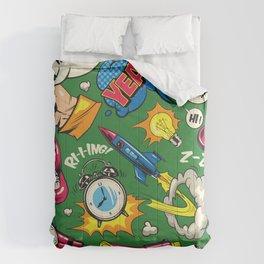 Comic Craziness! Comforters