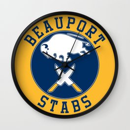 Beauport Stabs (Sabres Logo) Wall Clock