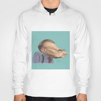 larry Hoodies featuring Larry King by Patrick Dea