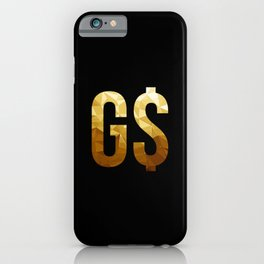 GS Money Maker iPhone Case