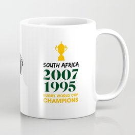 Rugby World Cup Champions — South Africa Rugby Union side (Springboks) Coffee Mug