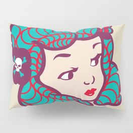 Girl Power Dynamite Laser Beam Pillow Sham