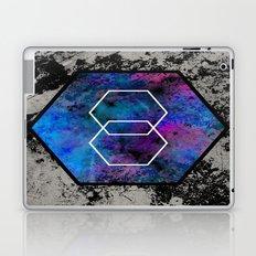 TEXtured HEX - Abstract, geometric, textured artwork Laptop & iPad Skin
