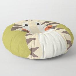 Tiger, Animal Portrait Floor Pillow