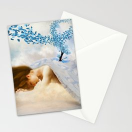 Winter's Mourn Stationery Cards