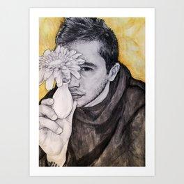 Tyler Joseph - Floral Art Print