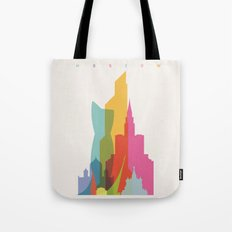 Shapes of Moscow Tote Bag