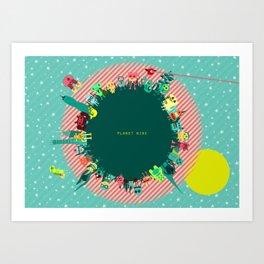 Planet Nine Art Print