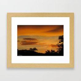 The great beyond Framed Art Print