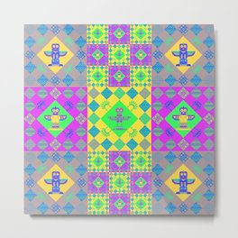 Indian patchworks48 Metal Print