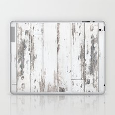 White Wood Laptop & iPad Skin