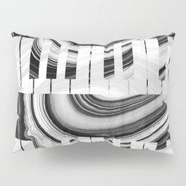 Marbled Music Art - Piano Keys - Sharon Cummings Pillow Sham