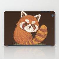 red panda iPad Cases featuring Panda by Toru Sanogawa