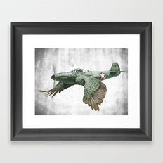 In which it's a bird. It's a plane. (Now in technicolour) Framed Art Print