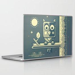 Night owl graphic design Laptop & iPad Skin