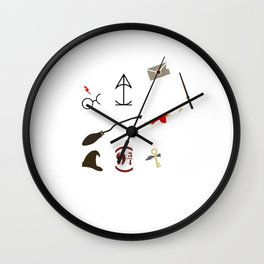 The Magical World of HarryPotter Wall Clock