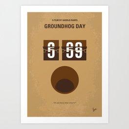 No031 My Groundhog Day MMP Art Print