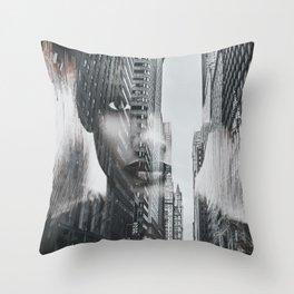 City 3 Throw Pillow