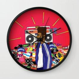 90 Daze Wall Clock