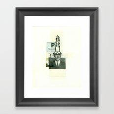 Screw Framed Art Print
