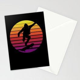 Skaterboard Retro Skater Cool Vintage Hobby Stationery Cards