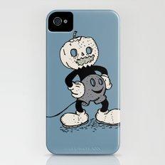 Mickey Pumpkin (desaturated) iPhone (4, 4s) Slim Case