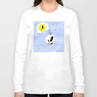 olaf Long Sleeve T-shirts featuring Olaf in BoO©&Friends by oONekoGirloO