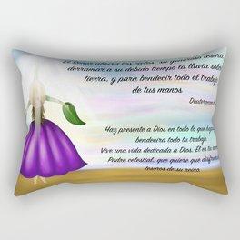 Flor del cielo - Deuteronomio 28, 12 Rectangular Pillow