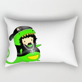 Rawr gets gansta  Rectangular Pillow