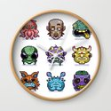 Monster Faces by misbug