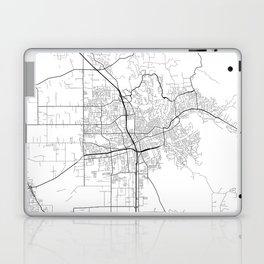 Minimal City Maps - Map Of Santa Rosa, California, United States Laptop & iPad Skin