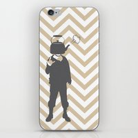 steam punk iPhone & iPod Skins featuring Steam Punk by Jade Deluxe