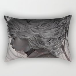 Tangled Rectangular Pillow