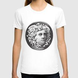 Black and White Face of Medusa T-shirt