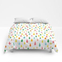 Happy Rain Comforters