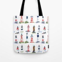 Swedish lighthouses Tote Bag