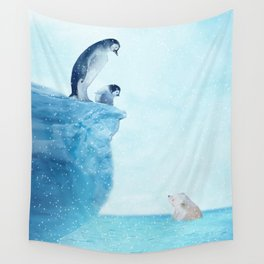 Penguins Wall Tapestry