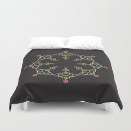 2019 Jeweled Geometry Duvet Cover