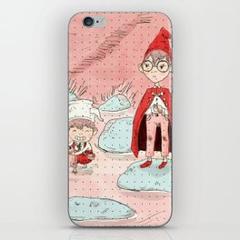 wirt and greg from over the garden wall iPhone Skin