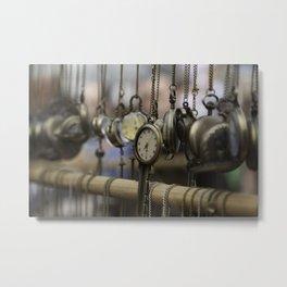 time pieces Metal Print