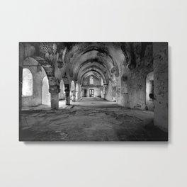 Derelict Cypriot Church. Metal Print