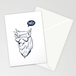 Alpaca Nö! Stationery Cards
