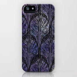 Dark Veil Trees iPhone Case