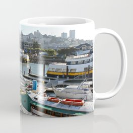 Marinas Of The World (Pt. 5 - San Francisco, California) Coffee Mug